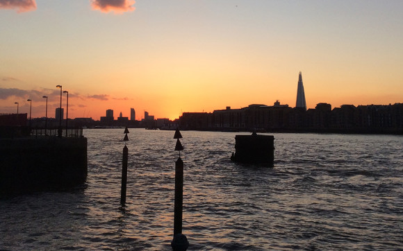Sunset, River Thames